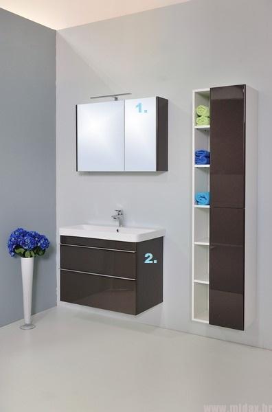 5996 Kupaonska garnitura Luxury 2 Profil 80 AS/ALU