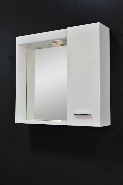 Kupaonski ormarić s ogledalom Tulia 60