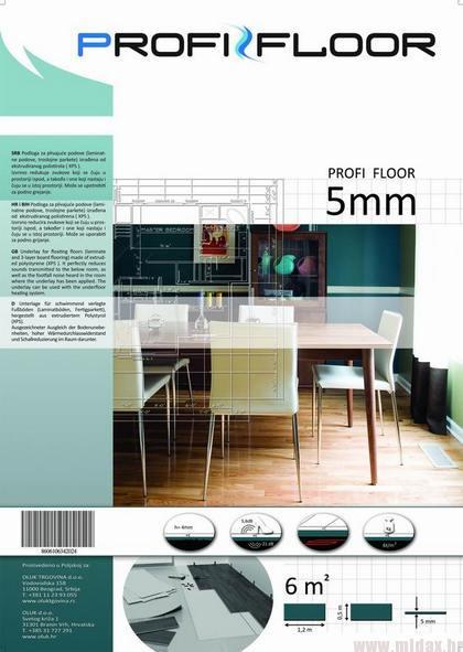"1750 Podloga za laminat ""Profi-Floor"" 5mm"