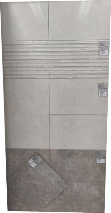 33.3 x 55.5 Lao Blanco 90259 / Lao Gris 90247 – Keramičke kupaonske pločice
