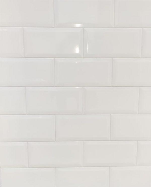 12.5 x 25 Prism White – Keramičke kupaonske pločice
