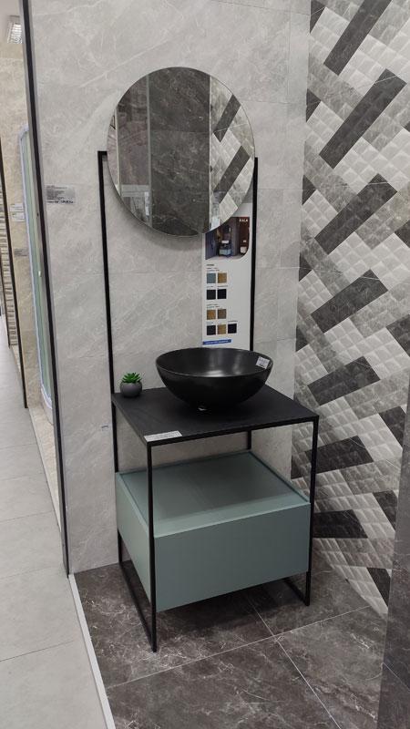 6645 Stojeći element baza Kala za umivaonik s ogledalom